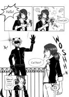 ML Comic: Lovely (Marinette x Cat Noir) Page 1 by 19Gioia93