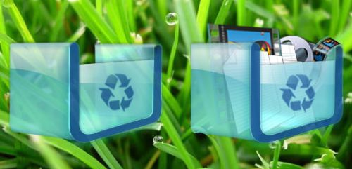 Duc Tien's Recycle Bin Icons by teh-bug