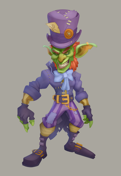 Mad Hatter for Heroes of the Horde by OrangeFreeman