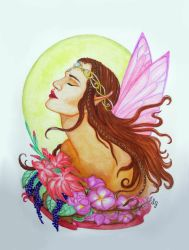 Floral Fairy by EverIris