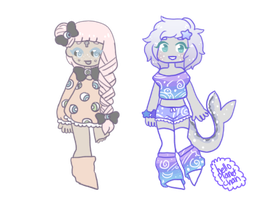 [TRADE] - KyaKlutz [dolly chibis] by hello-planet-chan