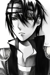 Portrait of The Brother by NagisaFelicia