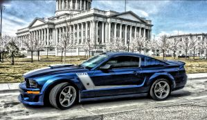 2007 427R ROUSH MUSTANG IN HDR by AthenaIce