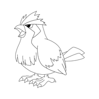 Free Pidgey Template by BehindClosedEyes00