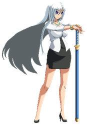 Sprite Comission: [OC] Nan by excahm