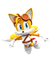 Sonic Boom: New Tails Render by Nibroc-Rock