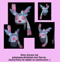 Shiny Sylveon hat by PokeMama