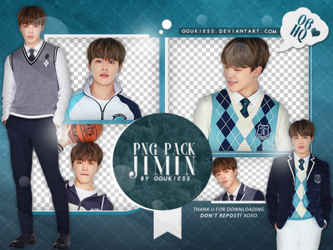Jimin (BTS) PNG Pack #001 by ggukiess