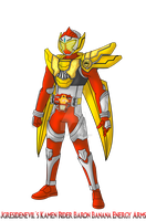 COMMISSION: Kamen Rider Baron - Banana Energy Arms by RamenDriver