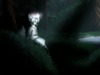 Lucien in a Forest by TribalaKihara