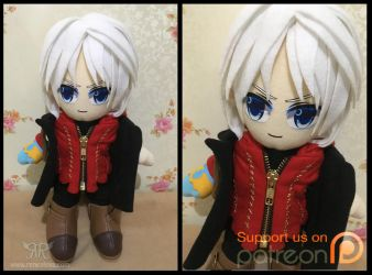 Nero 30cm by renealexa-plushie