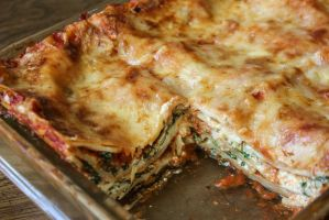 Spinach Lasagna by Kitteh-Pawz
