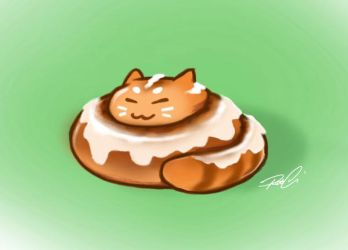 Kittamon Roll by RobtheDoodler