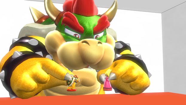 Bowser- Now kiss by TheShadowfost