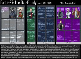 Bat-Family - 2 - The Dynamic Duo by Roysovitch