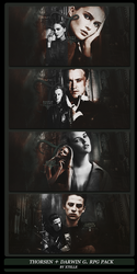Thorsen Family + Darwin. by Queen-of-Slytherin