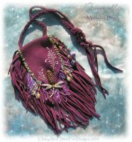 Dragonfly Medicine Bag by ChaeyAhne