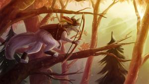 [C] Forest Hunter by EarlNoir