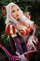 Heartseeker Ashe - Shot Through the Heart by yayacosplay