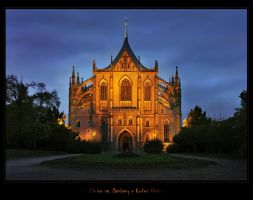 - Cathedral of st. Barbara in Kutna Hora - by UNexperienced