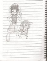 Luffy and Chopper Sketch by PATotkaca