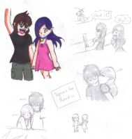 Reason and Misa Sketches by shadow-luver-1