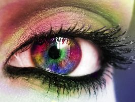 Rainbow Eye by Ssargasm