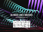 Blended Lines Brushes by xara24