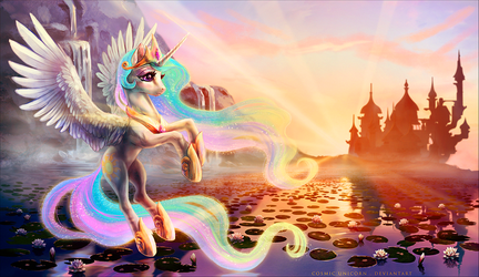 Sol of Celestia by CosmicUnicorn