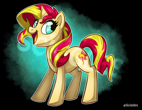 MLP: Sunset Shimmer by Sciggles