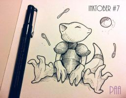 Inktober 2016 - 07 by Paa-H