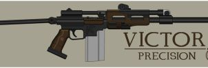 Guardian Rifle by Sharkour