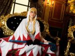 White Mage cosplay from FFT part8 by mayuyu0405