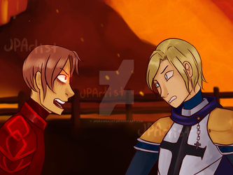 Laurance and Garroth.:.Minecraft Diaries by JPDrawsALot