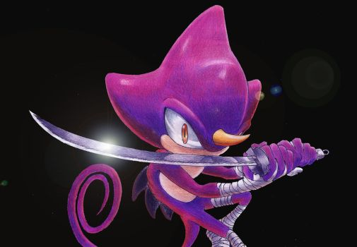 Espio: The ninja chamaleon by Dash-The-Cheetah