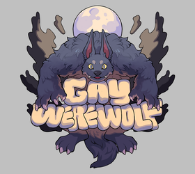 gay werewolf by Andcetera