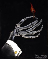 Scrooged: The Ghost of Christmas Future's hand by Clockworkalien