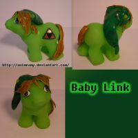Baby Link by AnimeAmy