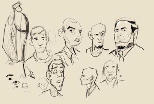sketches by is-ashour