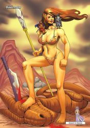 Amazons and Dragons by giantess-fan-comics