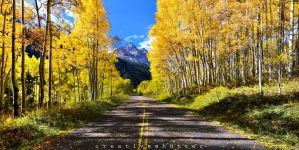 Way to maroon bells by creative-shutter