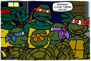 Turtles Forever by theEyZmaster