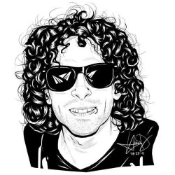 Jeremy Liddle (Digital Ink Drawing) by HarkinDeximire
