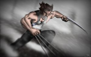 Wolverine by Unreal-Forever