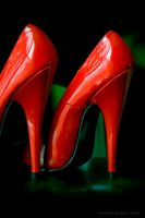 Red shoes by passionphoto