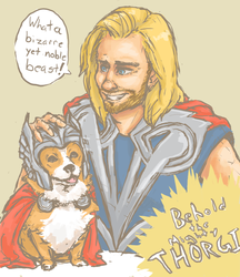 The Mighty Thorgi by superior-git