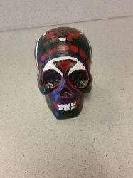 Day of the Dead: Skull [front] by Kannas-Disguise