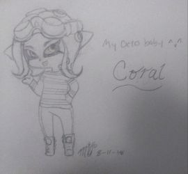 My octo baby. by GoldheartArt