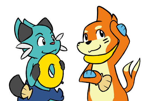 072814_0001: We're the Same, You and I by BuizelKnight