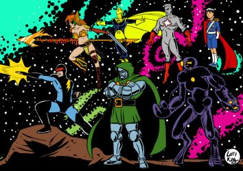 Crisis on Infinite Secret Wars by LarryKingUndead